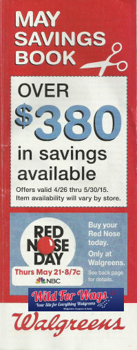 May Coupon Book 2015