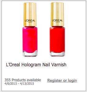 Free L'Oreal Nail Polish