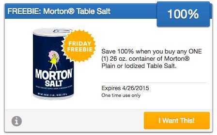 Free Morton's Salt