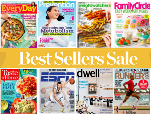 Discountmags Best Seller Magazine Sale