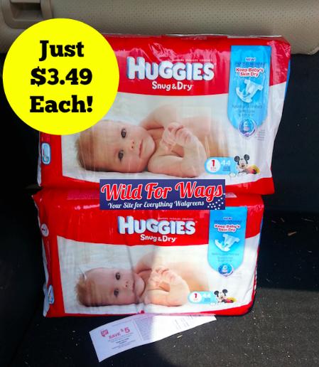 Huggies Just $3.49