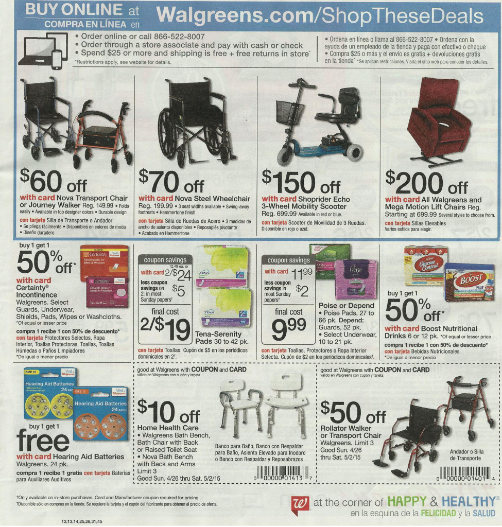 Best deals at walgreens with coupons