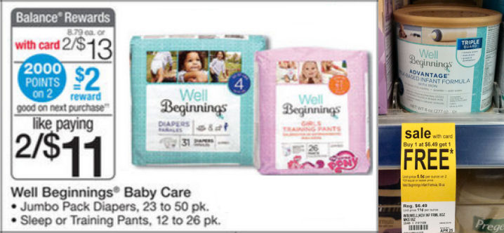 Baby Booster Scenario: Save 56% on Diapers & Formula!