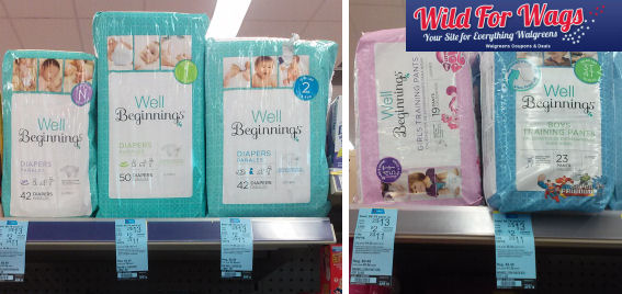 Well Beginnings Diapers deals