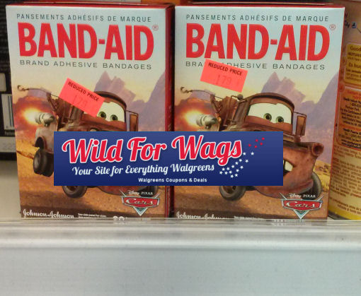 New Band-Aid Coupon + Clearance!