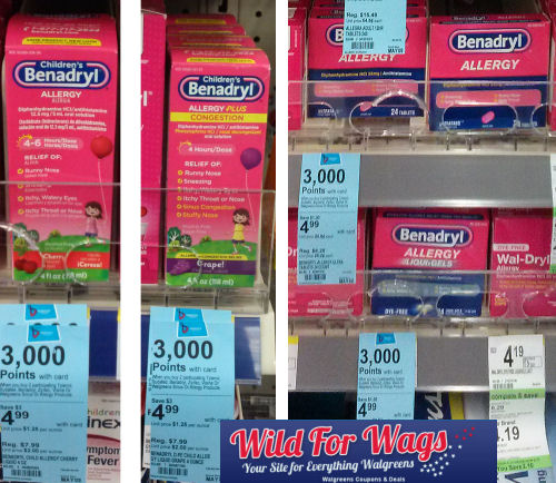 Save 69% on Benadryl Children & Adult's Products!