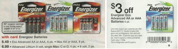 Energizer Eco Advanced 6pk