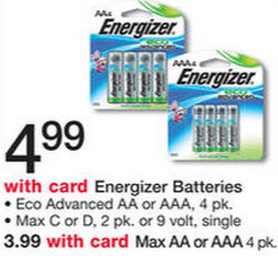 Energizer Eco Advanced Batteries $1.94!