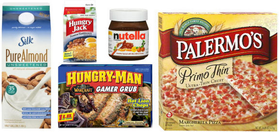 New Coupons - Palermo's, Hungry Jack, Silk, Nutella & More!