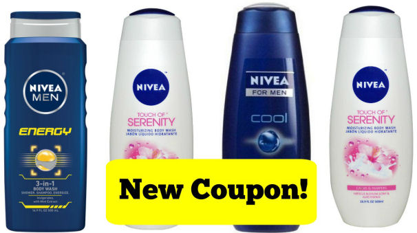 New Nivea Body Wash Coupon!
