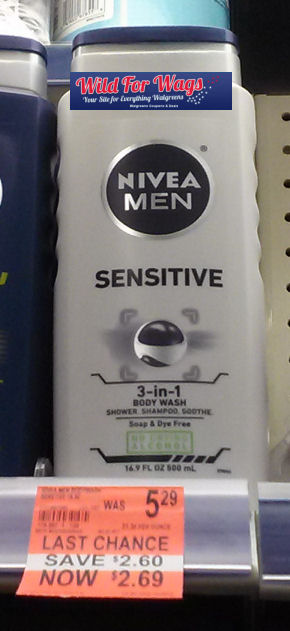 Nivea Body Wash clearance Deal