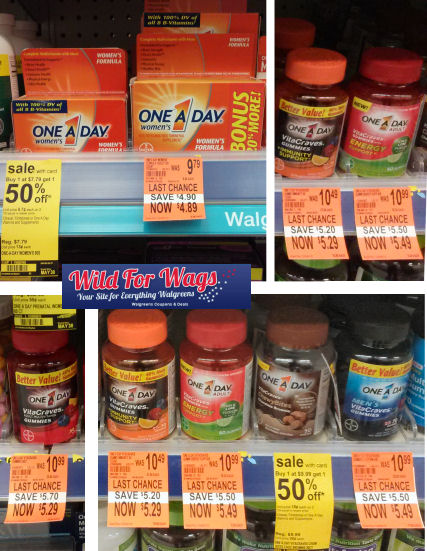 Vitamin Clearance Deals As Low As $1.67 Per Bottle!