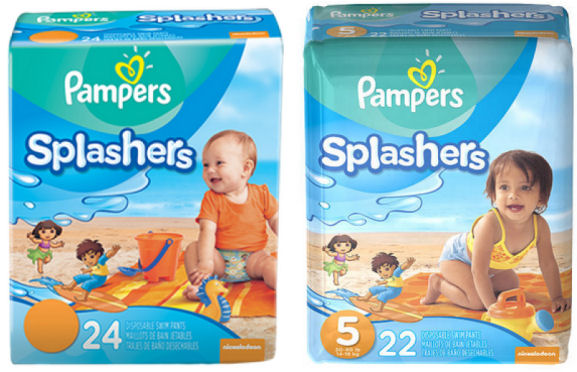 pampers splashers coupons