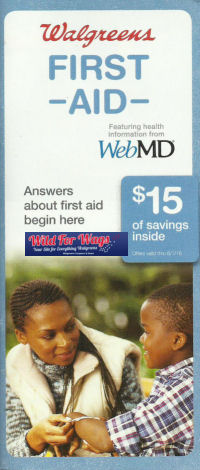 New First Aid Booklet At Walgreens = 44¢ Gauze Pads!