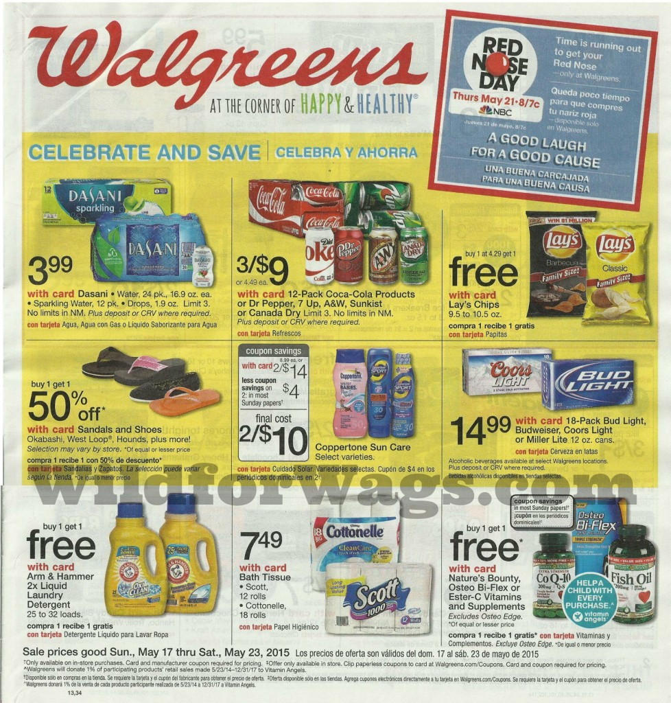 Walgreens Weekly Ad 5-17-10 pg 01