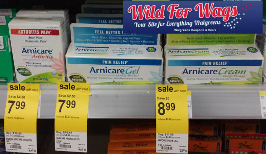 Arnicare Products As Low As Free!