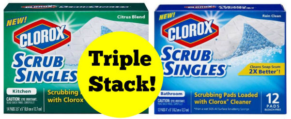 clorox scrub singles deal