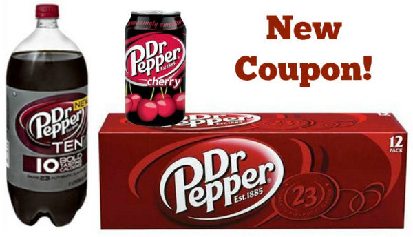 New Dr Pepper Coupon Sale – Coupon Disclaimers