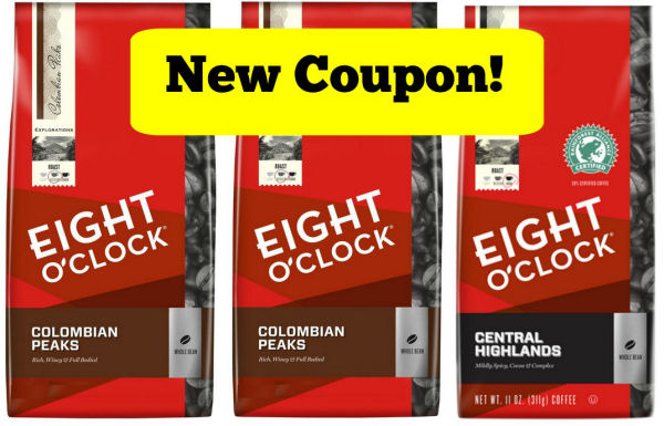 eight o clock coupons