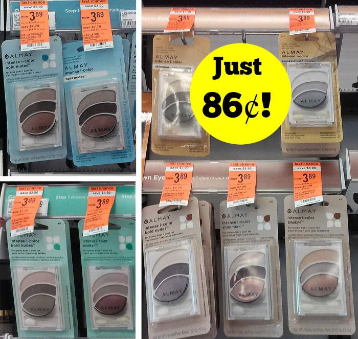 Almay Eye Shadow Clearance Deals - Just 86¢!