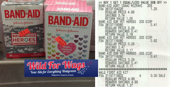 Band Aid clearance deal