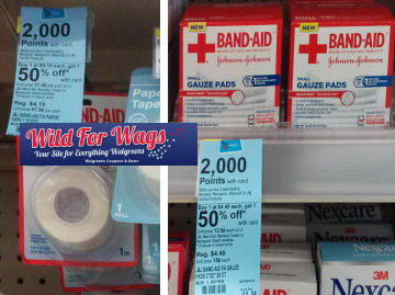Band-Aid Products As Low As $1.12 Each!