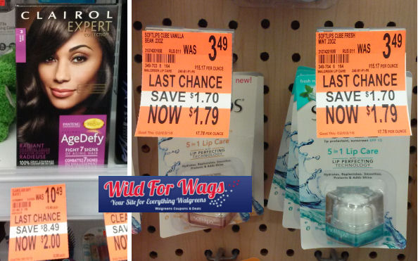 Clearance Deals As Low As Free - Clairol, Softlips & More!