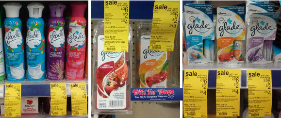 Glade Products 47¢ Each!