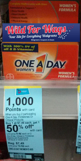One A Day Women's Just $2.12 Per Box!