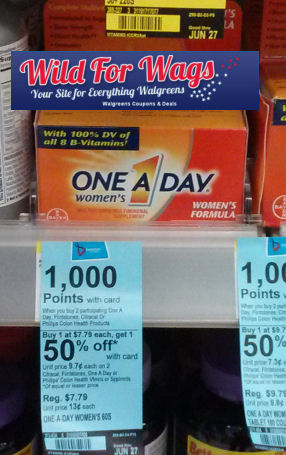 Save 70% on One A Day Women's Formula!