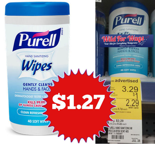 Purell wipes deal