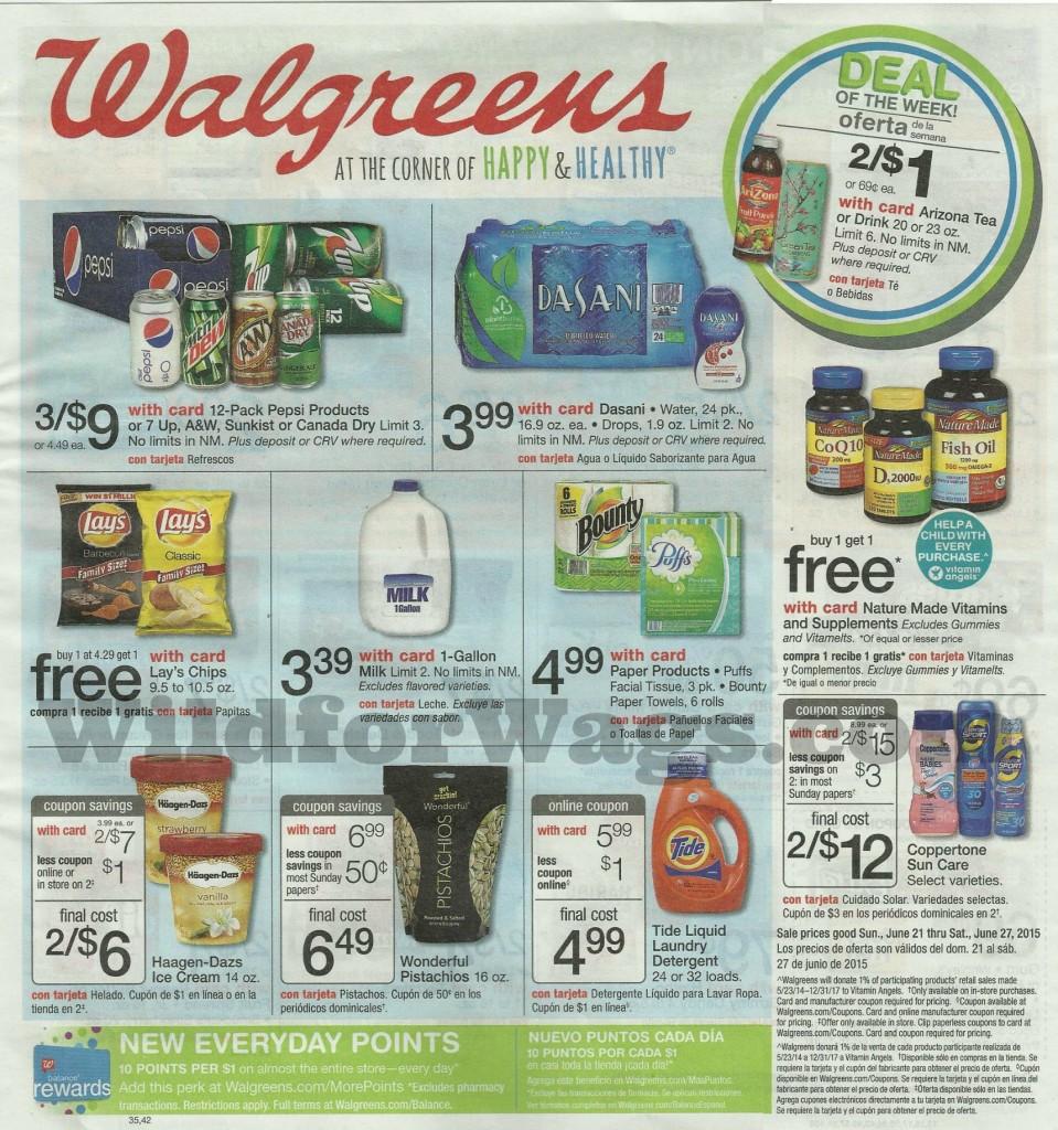 Walgreens Weekly Ad 6-21-01