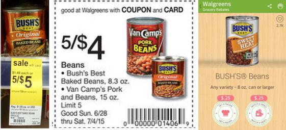 Grab Bush's Original Baked Beans For 30¢!