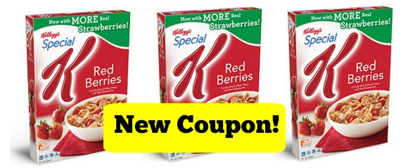 new Special K red berries coupon