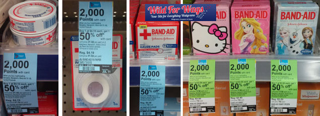Band-Aid Products As Low As $1.08!