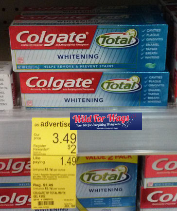 *Reset* Colgate Coupon for 46¢ Toothpastes!