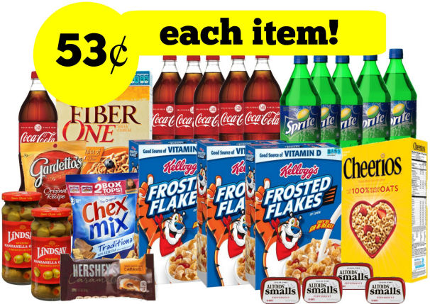 Grocery Points Booster Scenario - 53¢ for Each Cereal, Chex Mix & More!