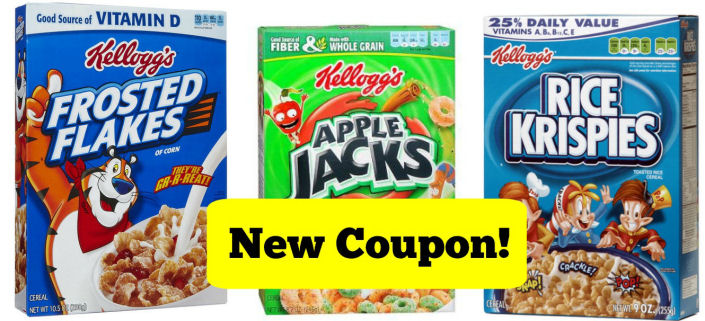 New Kellogg's Coupon + Upcoming Sale!