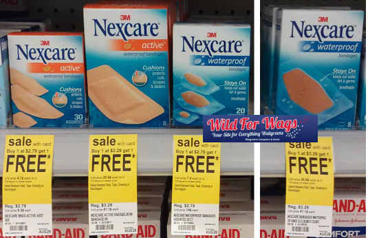 Nexcare Bandages As Low As $1.64 Each!