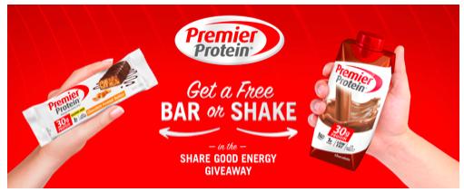 Free Premier Protein Shake
