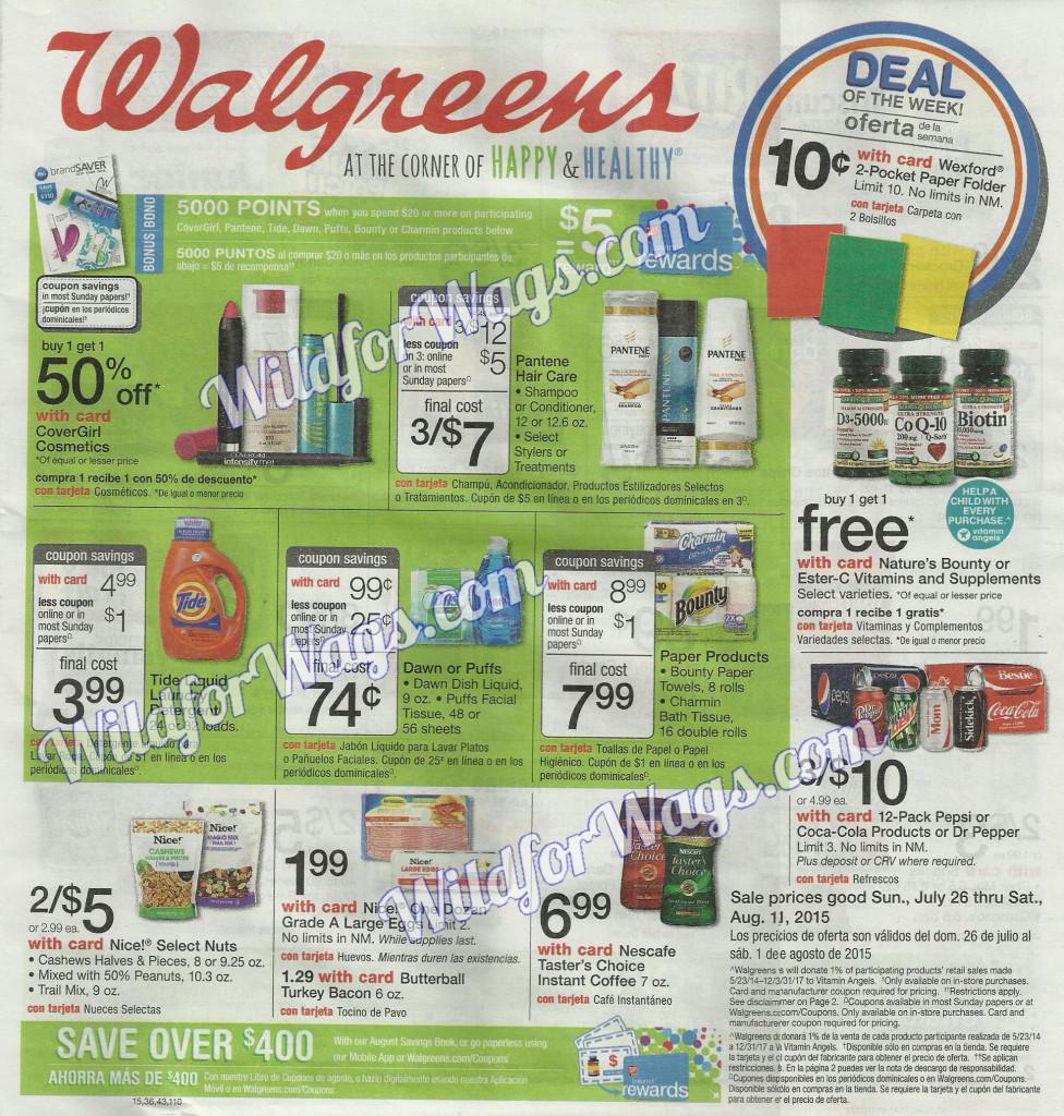 Walgreens Weekly Ad 7-26-15-pg-1