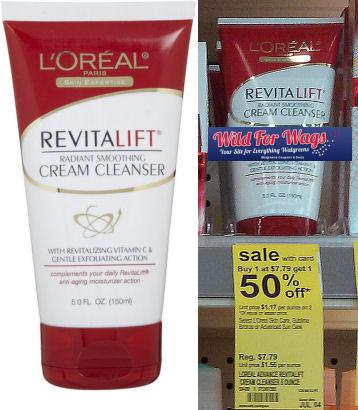 Save 64% on L'Oréal Revitalift Cleanser!
