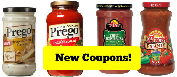 New Coupons for Pace and Prego!