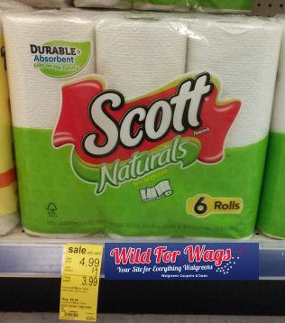 Scott Paper Towels As Low As $1.83 Per 6pk!