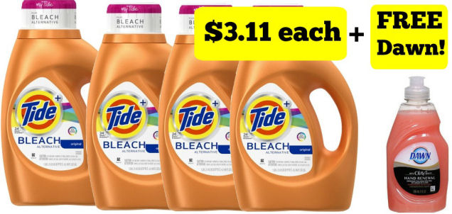 Print Now for $3.11 Tide Next Week!
