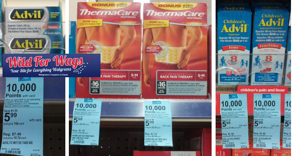 Advil & Thermacare As Low As $1.54 Each!