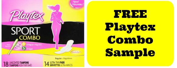 Free Playtex Combo Sample