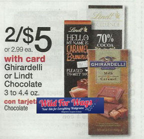 Print Now - Ghirardelli Bars $1.48 Next Week!