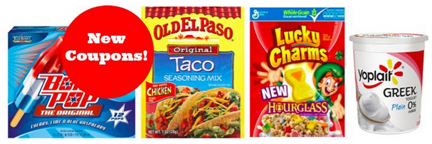 New Grocery Coupons