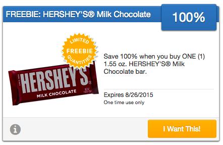 FREE Hershey's Bar